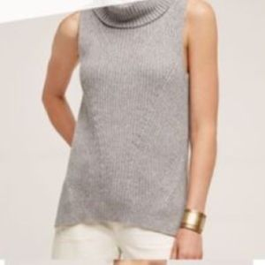 sleeveless cowl neck sweater from Anthropologie